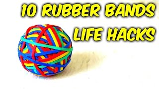 Download 10 Simple Rubber Bands Life Hacks Video