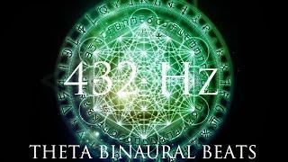 Download DEEP Theta Binaural Beats ➤ LET GO of Fear, Overthinking & Worries ➤ 432Hz Deep Relaxation Video