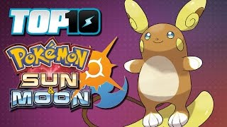 Download TOP 10 Sun & Moon Pokémon Video