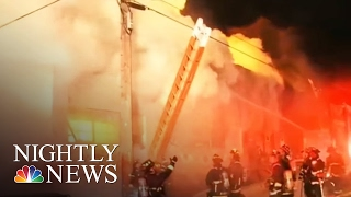 Download Video Inside Oakland Warehouse Before Deadly Fire (Exclusive) | NBC Nightly News Video