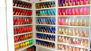 Download Color Coordinating My Shoe Collection Video