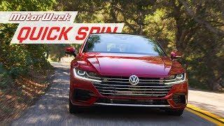 Download 2019 Volkswagen Arteon | MotorWeek Quick Spin Video