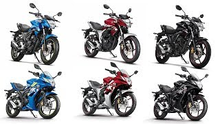 Download 2018 Suzuki Gixxer & Gixxer SF Colour Options - Images | AUTOBICS Video