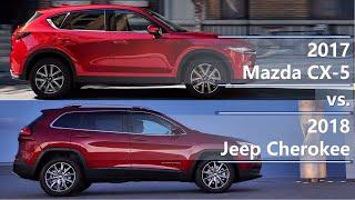 Download 2017 Mazda CX-5 vs 2018 Jeep Cherokee (technical comparison) Video