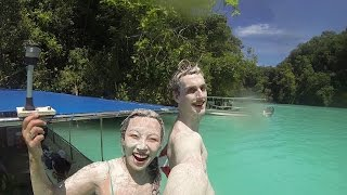 Download Snorkeling in Jellyfish lake in Palau Video