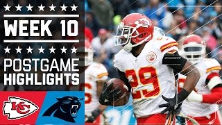 Download Chiefs vs. Panthers | NFL Week 10 Game Highlights Video