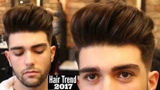 Download BIG VOLUME QUIFF - Mens Haircut & Hairstyle Trend 2018 Tutorial Video