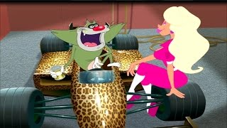 Download Oggy and the Cockroaches - Formula 1 (S3E37) Full Episode in HD Video