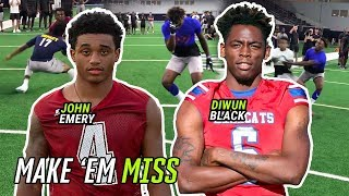 Download John Emery And Country's Best RBs Put Defenders On SKATES! Ole Miss Commit Diwun Black Is A SAVAGE Video