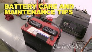 Download Battery Care and Maintenance Tips -EricTheCarGuy Video