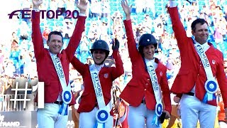 Download Team USA Jumping wins gold on home soil at Tryon 2018 | No. 01 | Top 20 moments 2018 Video