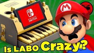 Download Has Nintendo Gone MAD?! (Nintendo Labo Origins) | Culture Shock Video