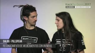 Download HackForGood Salamanca - SAL06 - PillSpeak | MEDIALAB USAL Video