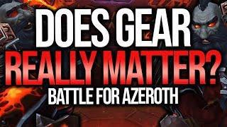 Download BFA | Gear Does Not Matter In PvP? How It Works - Battle For Azeroth Video