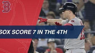 Download Red Sox break Game 4 open with 7-run 4th inning Video