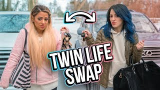 Download Opposite Twins Swap Lives for a Day! Video