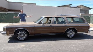 Download The Oldsmobile Custom Cruiser Is an Old-School Family Wagon Video
