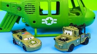 Download Disney Pixar Cars Army Lightning McQueen & Mater have their first mission save Gil Just4fun290 Video