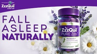 Download ZzzQuil PURE Zzzs Melatonin Gummies: Fall Asleep Naturally Video