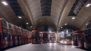 Download The Secret Life of a Bus Garage (Go-Ahead Stockwell) Video