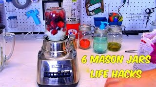 Download 6 Mason Jars Life Hacks Video