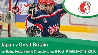 Download Japan v Great Britain | Prelim | 2016 Ice Sledge Hockey World Championships B-Pool, Tomakomai Video