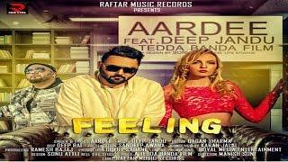 Download FEELING II AARDEE II MUSIC II DEEP JANDU II LATEST PUNJABI SONG 2017 II RAFTAR MUSIC RECORDS Video
