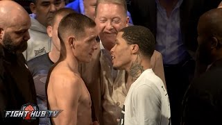 Download Tank finally makes weight! The Gervonta Davis vs. Liam Walsh official weigh in video Video