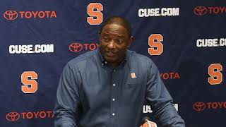Download Syracuse coach Dino Babers Monday press conference Nov. 12, 2018 Video