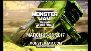 Download Monster Jam World Finals 18 Commercials Video