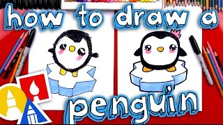 Download How To Draw A Cartoon Penguin Video