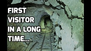 Download Deep Blue Mystery Mineral Inside An Abandoned Mine In Nevada Video