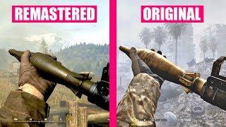 Download Call of Duty 4 Modern Warfare Remastered Gun Sounds vs Call of Duty 4 Modern Warfare Video