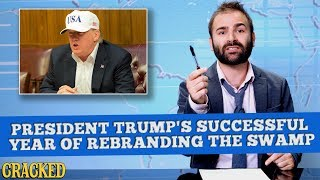 Download President Trump's Successful Year of Rebranding The Swamp - Some News Video
