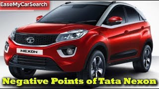 Download Negative Points of Tata Nexon | EaseMyCarSearch Video