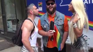 Download NYC Pride Paraders Are Obsessed With Trump | FLECCAS TALKS Video