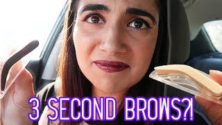 Download Testing 3-Second Eyebrow Stamps Video