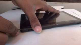 Download How to open an android tablet's case. Video