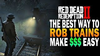 Download THE BEST Way To Rob Trains In RDR2! Make Easy Money! Red Dead Redemption Heist Guide Video