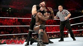 Download Titus O'Neil vs. Kevin Owens - WWE World Heavyweight Championship Tournament: Raw, November 9, 2015 Video