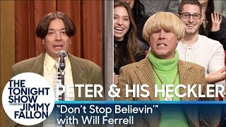 Download Peter and His Heckler - ″Don't Stop Believin'″ (with Will Ferrell) Video