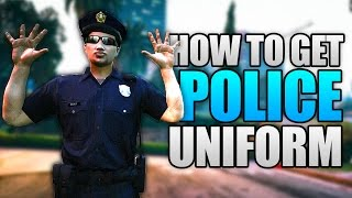 Download GTA 5 Online - HOW TO GET THE POLICE UNIFORM ONLINE! (GTA 5 Cop Outfit Glitch) Video