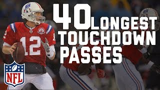Download Tom Brady's 40 Longest Touchdown Passes | NFL Highlights Video