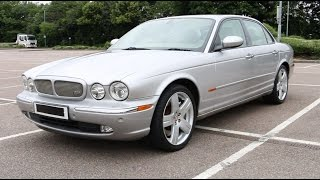Download Loud Supercharger Whine - Supercharged Jaguar XJR X350 with 390bhp - PerformanceCars Video