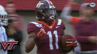 Download Virginia Tech's Hendon Hooker Connects WIth Tre Turner For 55-YD Touchdown Video