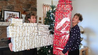 Download Twins surprise each other with the best Christmas gifts ever! Video