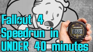 Download Fallout 4 Beaten in Under 40 Minutes (World Record Speedrun - Any%) Video