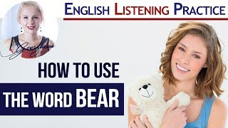 Download To Bear 🐻 | Idioms, Phrasal Verbs and Story with BEAR Video