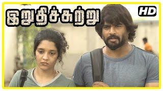 Download Irudhi Suttru Tamil Movie | Scenes | Madhavan rescues Ritika | Mumtaz angry at Ritika | Nasser Video
