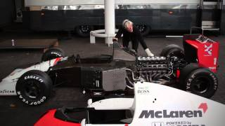 Download FIRE UP: 1991 McLaren MP4/6 V12 Video